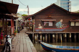 Penang Chew-Jetty-Art