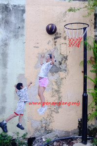 Penang Children-Playing-Basketball